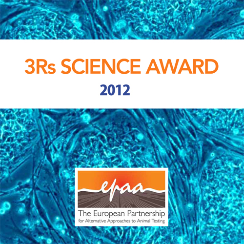 3Rs Science Award 2012