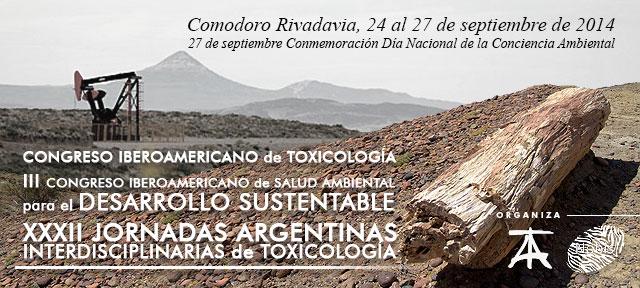 Congreso Iberoamericano de Toxicología para la Salud Ambiental y el Desarrollo Sustentable