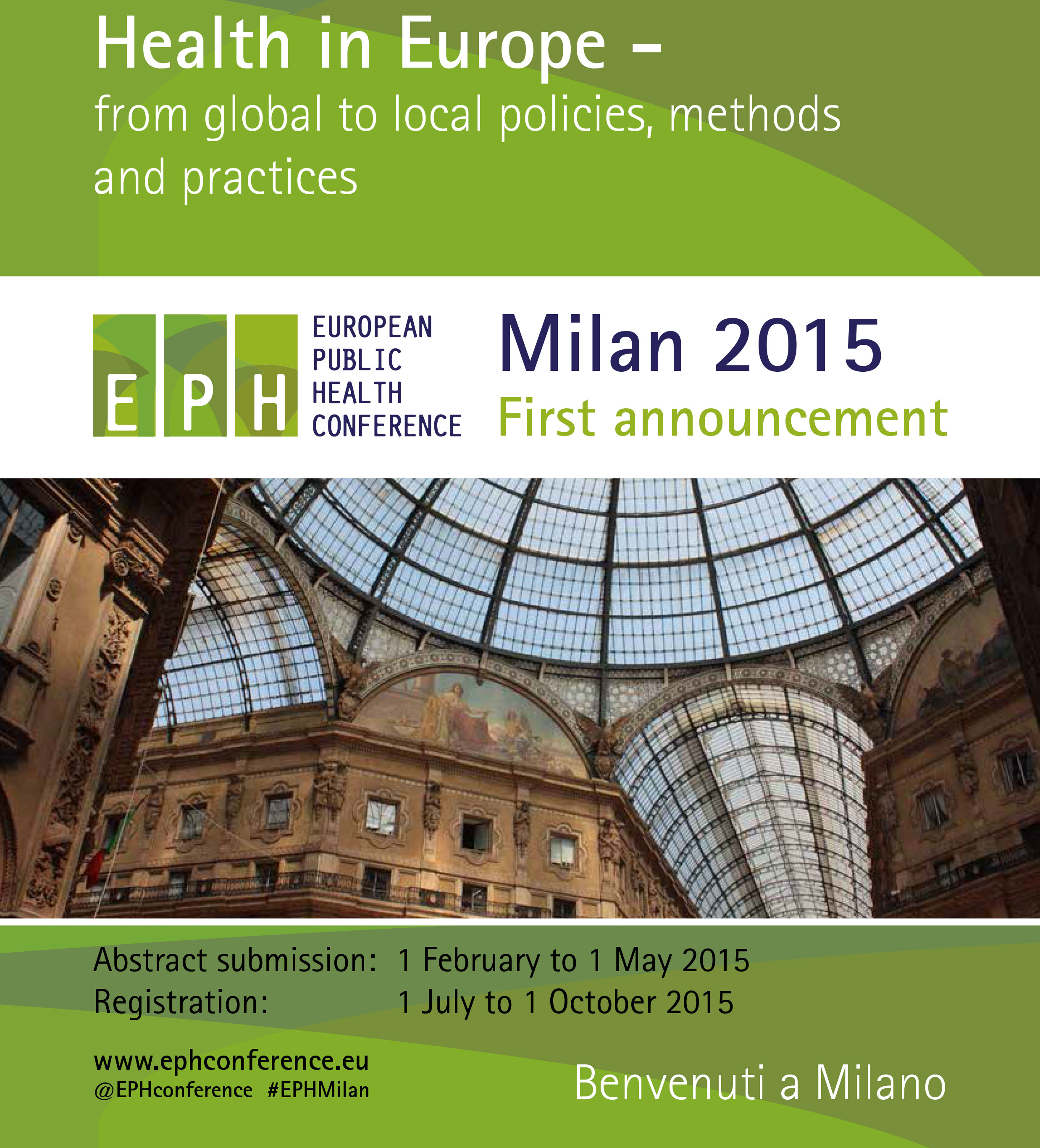 8th European Public Health Conference