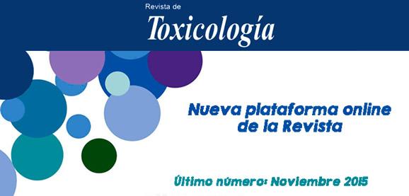 Revista de Toxicología de la Asociación Española de Toxicología